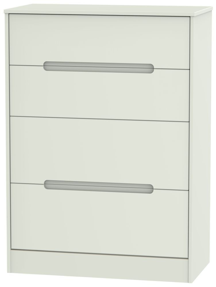 Monaco Kaschmir Matt 4 Drawer Deep Chest
