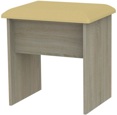 Monaco Darkolino Stool - Kaschmir and Darkolino