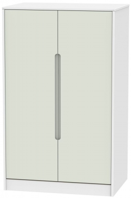 Monaco Kaschmir and White Wardrobe - 2ft 6in Plain Midi