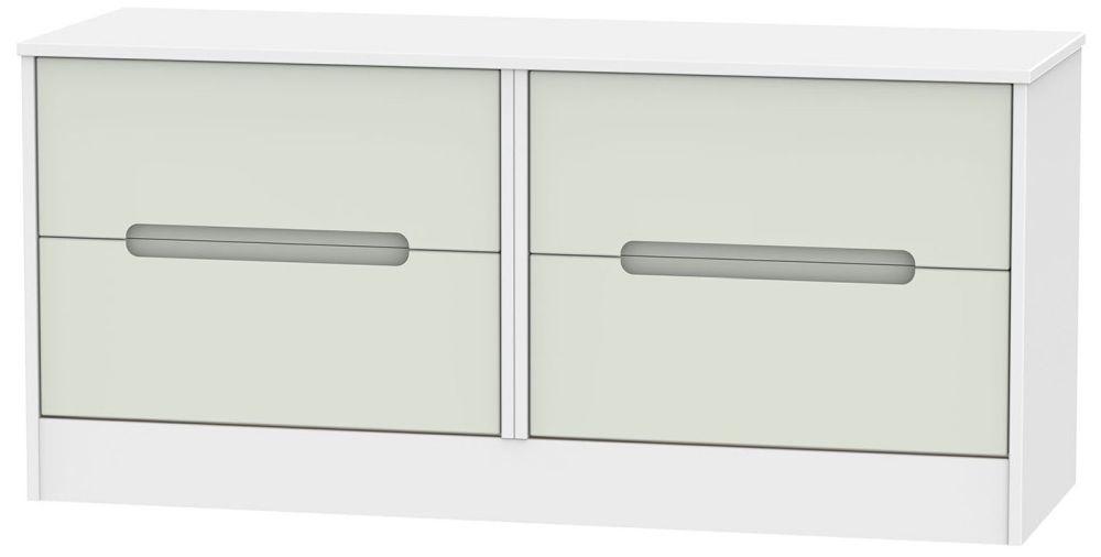 Monaco Bed Box - Kaschmir and White