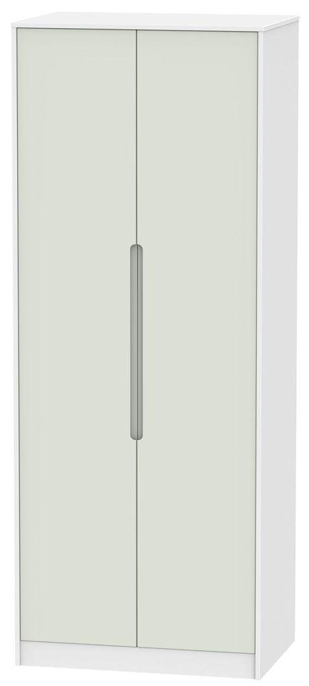 Monaco Kaschmir and White Wardrobe - Tall 2ft 6in Plain
