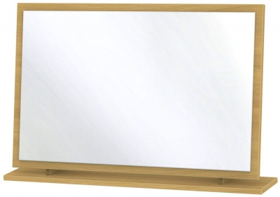Monaco Modern Oak Large Mirror