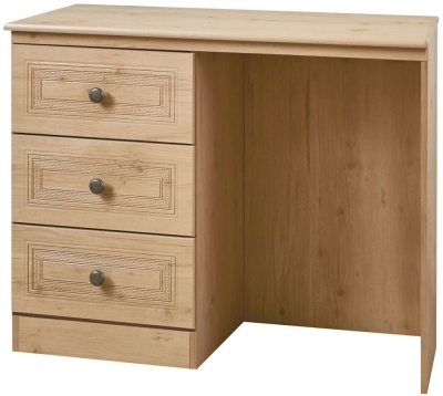 Oyster Bay Nash Oak Dressing Table - Vanity Knee Hole