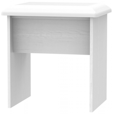 Oyster Bay Signature White Stool