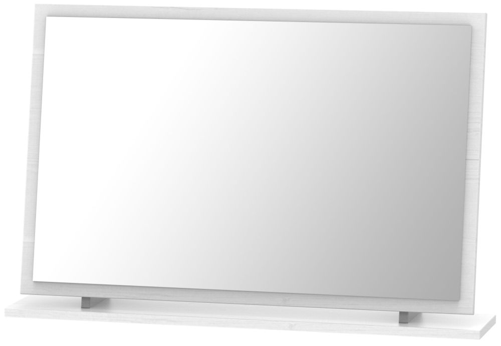 Oyster Bay Signature White Large Mirror
