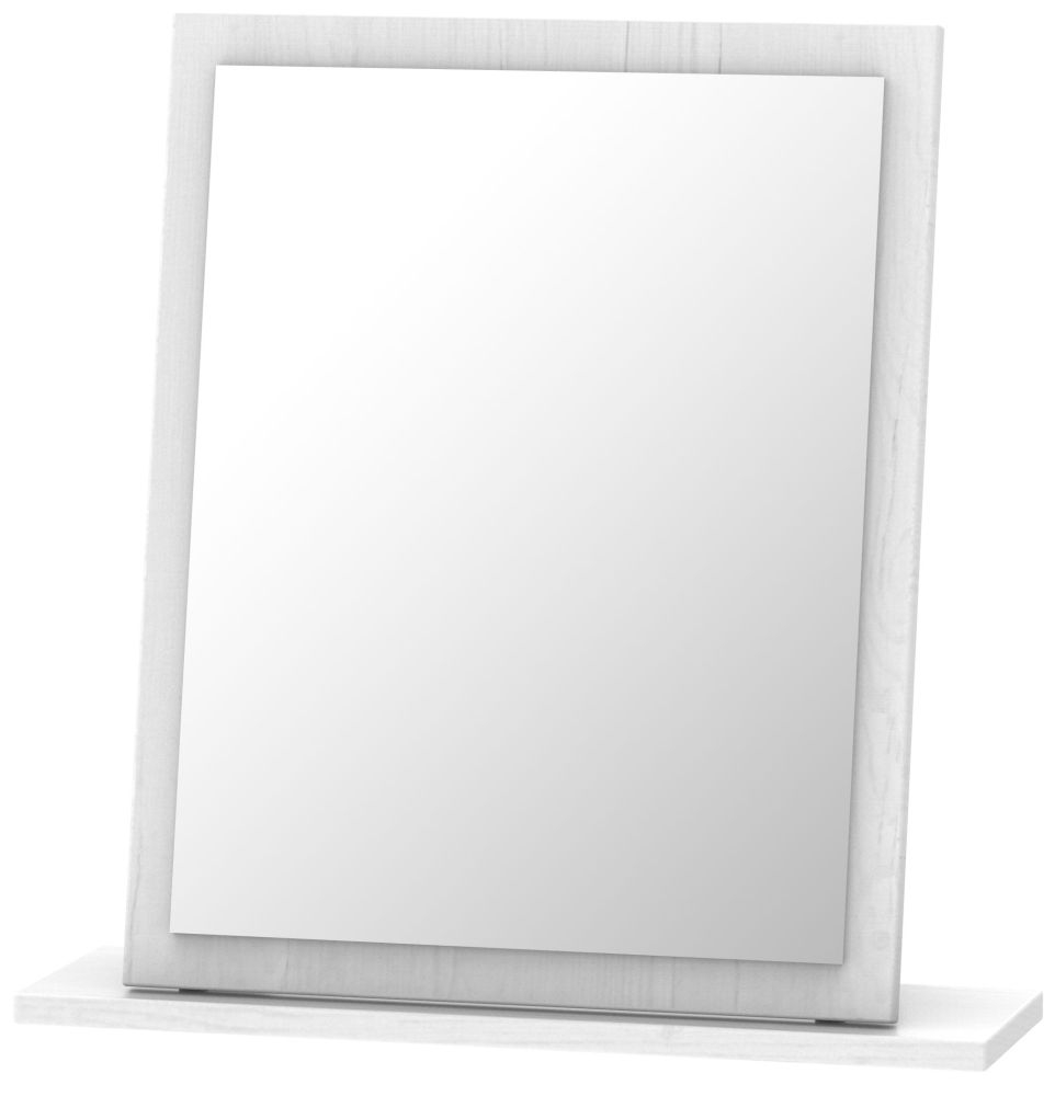 Oyster Bay Signature White Small Mirror