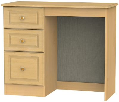 Pembroke Beech Single Pedestal Dressing Table