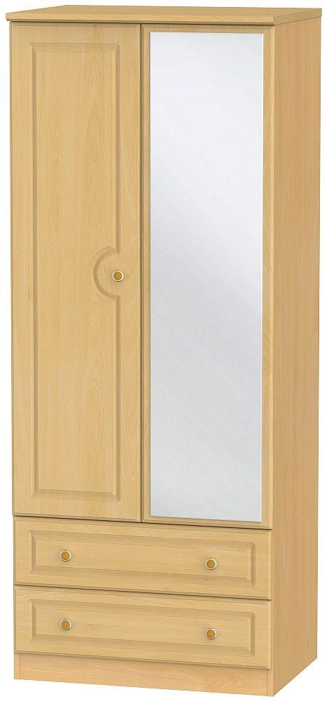 Pembroke Beech 2 Door Combi Wardrobe