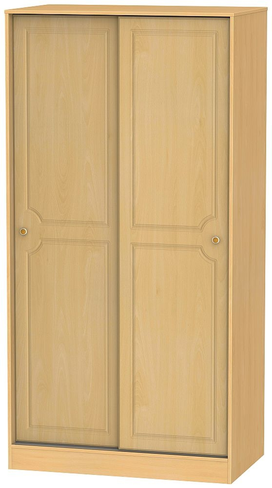 Pembroke Beech 2 Door Sliding Wardrobe