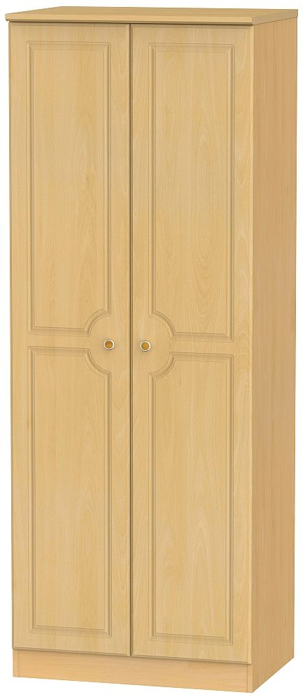 Pembroke Beech 2 Door Tall Hanging Wardrobe