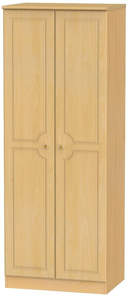 Pembroke Beech 2 Door Tall Wardrobe