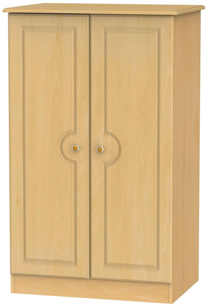 Pembroke Beech Wardrobe - 2ft 6in Plain Midi