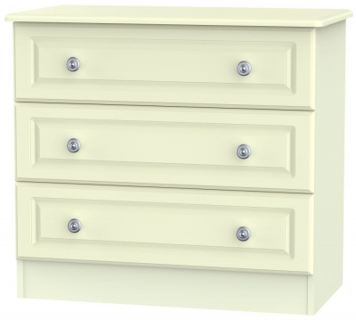 Pembroke Cream 3 Drawer Chest