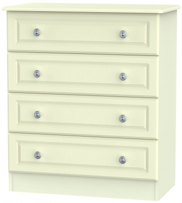 Pembroke Cream 4 Drawer Chest