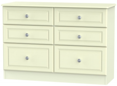 Pembroke Cream 6 Drawer Midi Chest