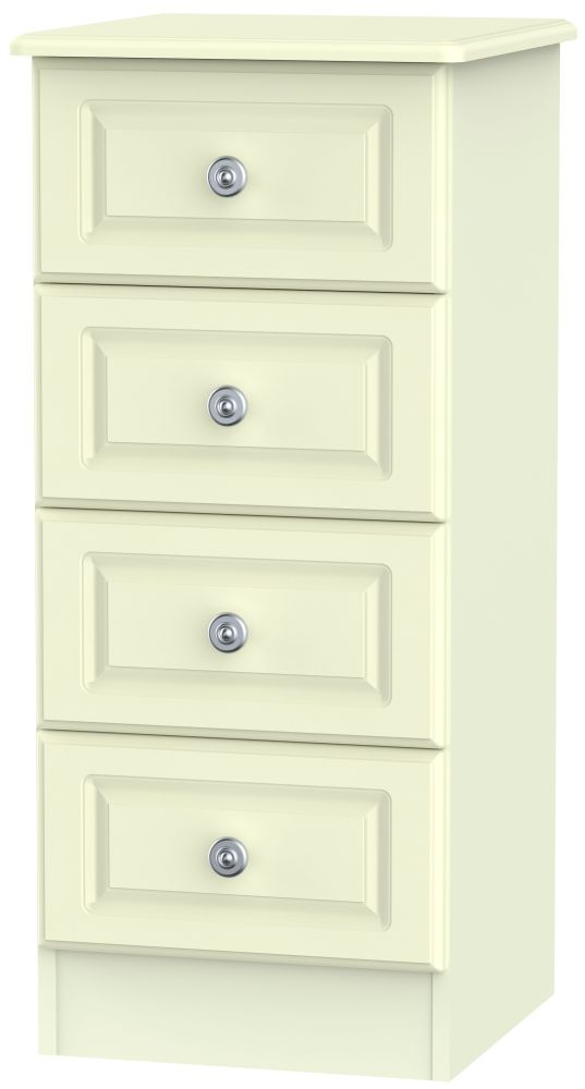 Pembroke Cream 4 Drawer Locker Chest