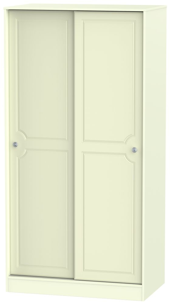 Pembroke Cream 2 Door Sliding Wardrobe