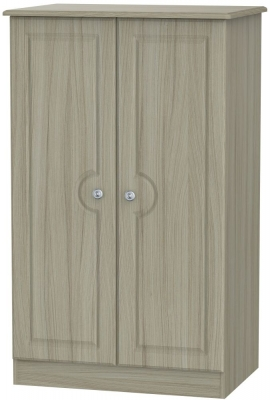 Pembroke Driftwood 2 Door Plain Midi Wardrobe