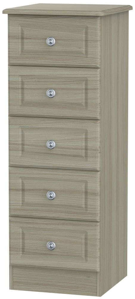 Pembroke Driftwood 5 Drawer Locker Chest