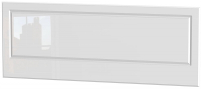Pembroke High Gloss White Headboard