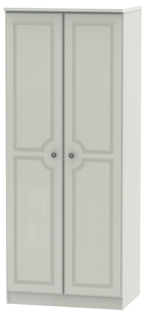 Pembroke Kaschmir Ash 2 Door Plain Wardrobe