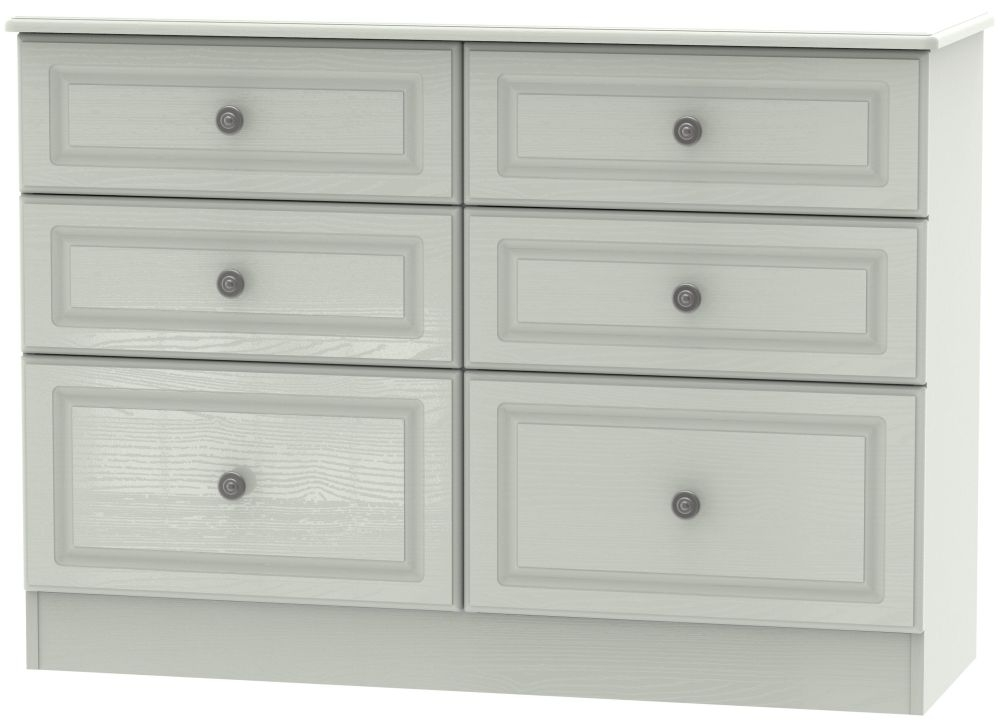 Pembroke Kaschmir Ash 6 Drawer Midi Chest