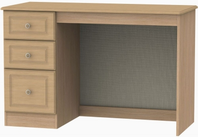 Pembroke Light Oak Desk - 3 Drawer