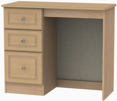 Pembroke Light Oak Dressing Table - Vanity Knee Hole