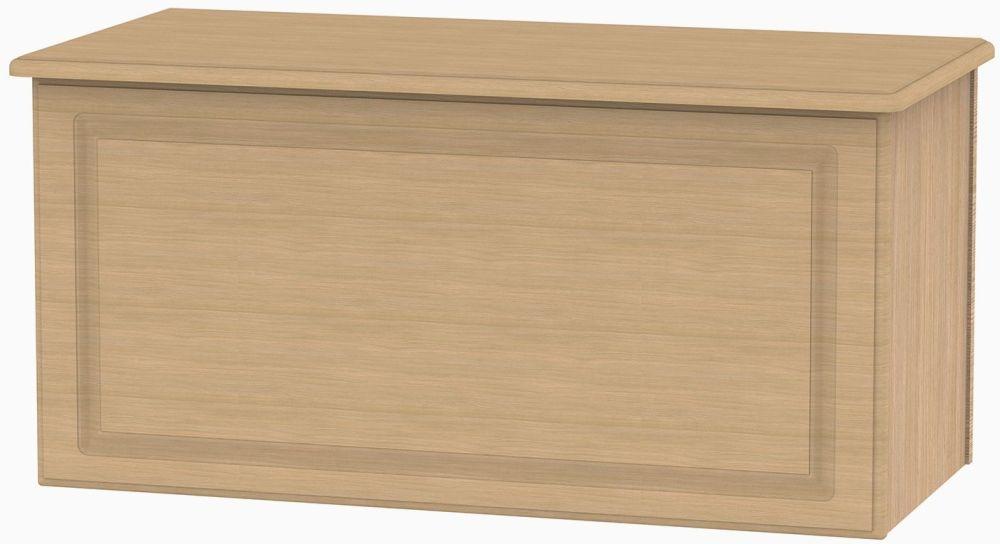 Pembroke Light Oak Blanket Box