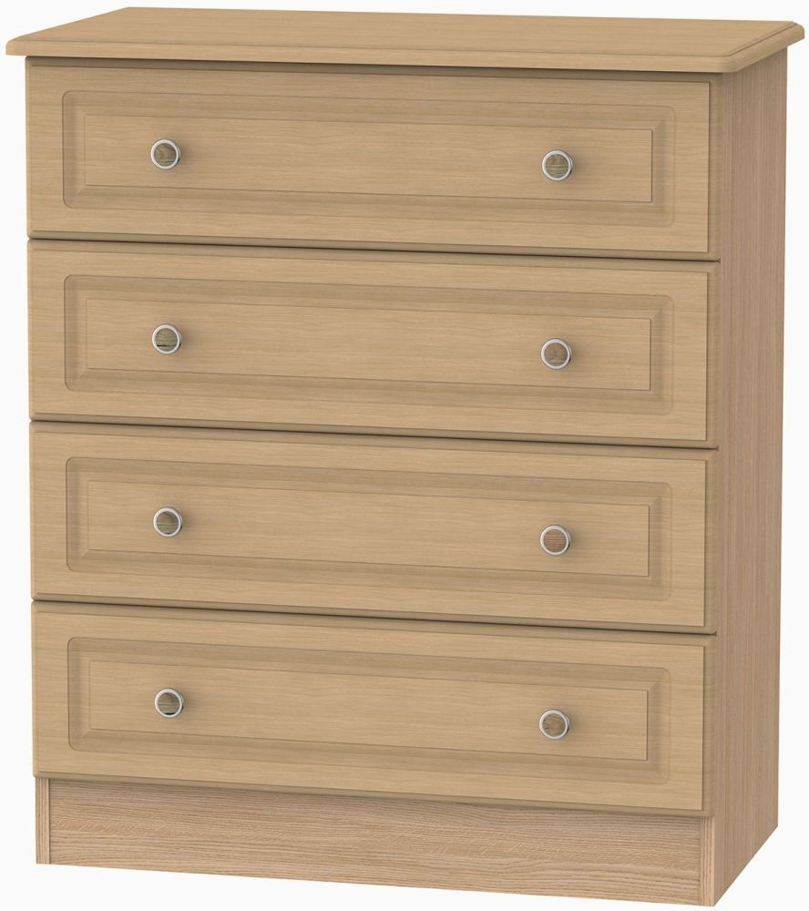 Pembroke Light Oak Chest of Drawer - 4 Drawer