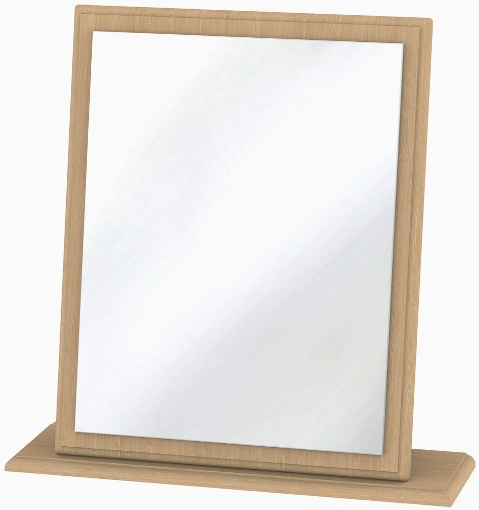 Pembroke Light Oak Mirror - Small