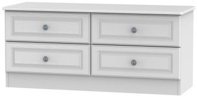 Pembroke White 4 Drawer Bed Box