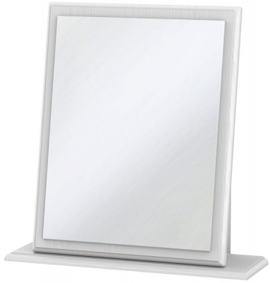 Pembroke White Small Mirror