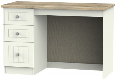 Rome Desk - Bordeaux Oak and Cream Ash