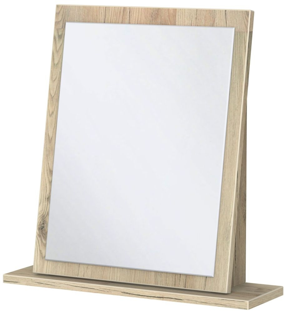 Rome Bordeaux Oak Small Mirror