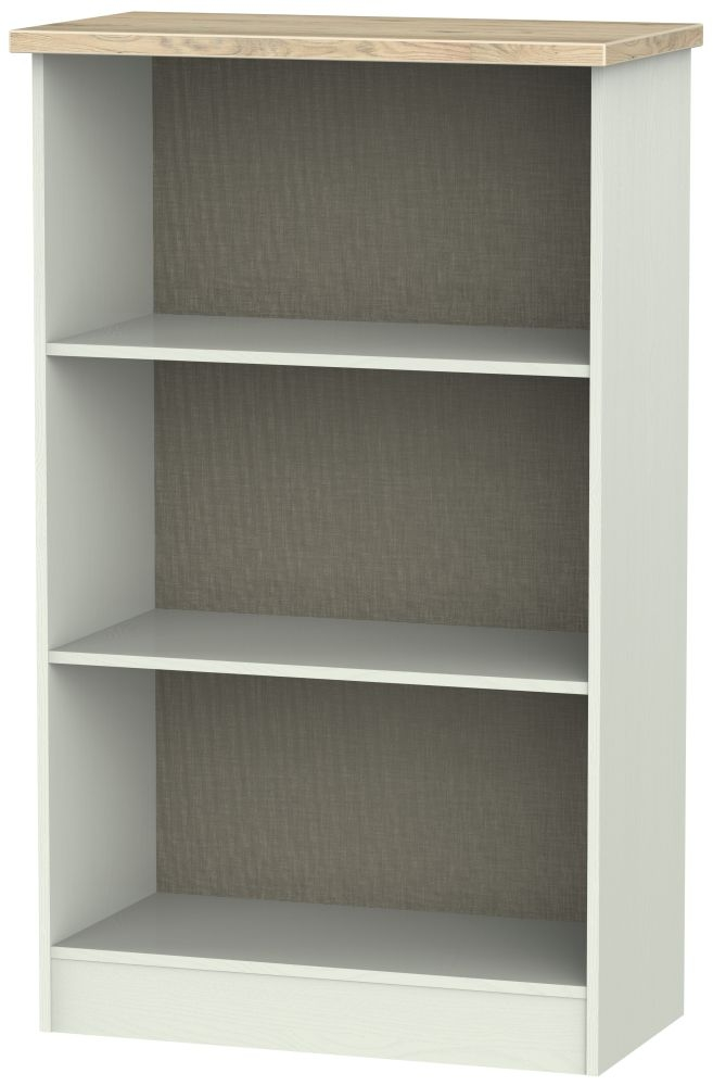 Rome Bookcase - Bordeaux Oak and Kaschmir Ash