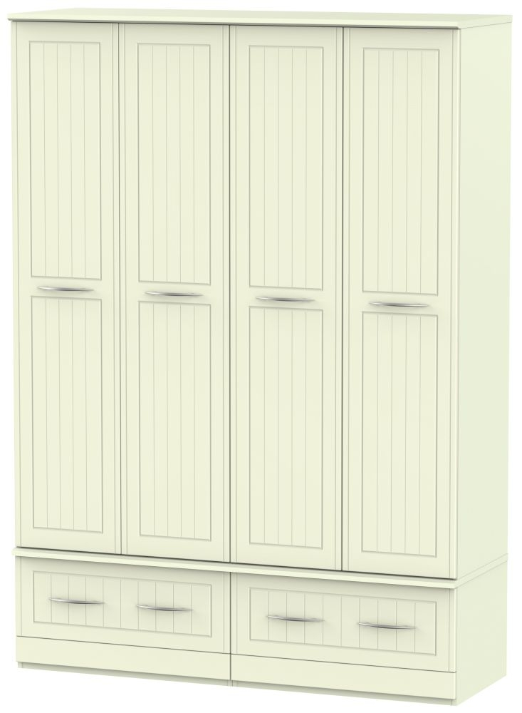 San Francisco Bay Cream Wardrobe - Quad Box