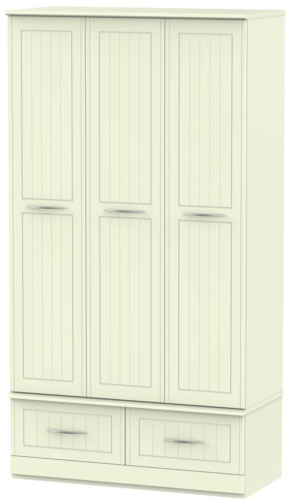 San Francisco Bay Cream Wardrobe - Triple Box