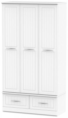 San Francisco Bay White Wardrobe - Triple Box