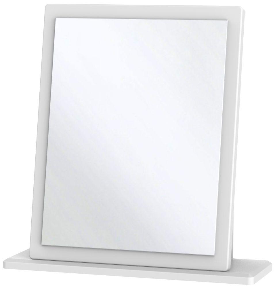 San Francisco Bay White Mirror - Small
