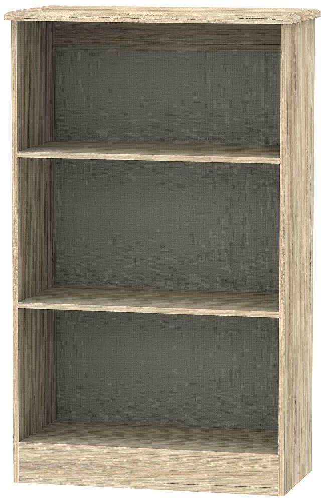 Sherwood Bordeaux Oak Bookcase