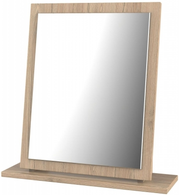 Sherwood Bordeaux Oak Mirror - Small