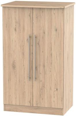 Sherwood Bordeaux Oak 2 Door Midi Wardrobe