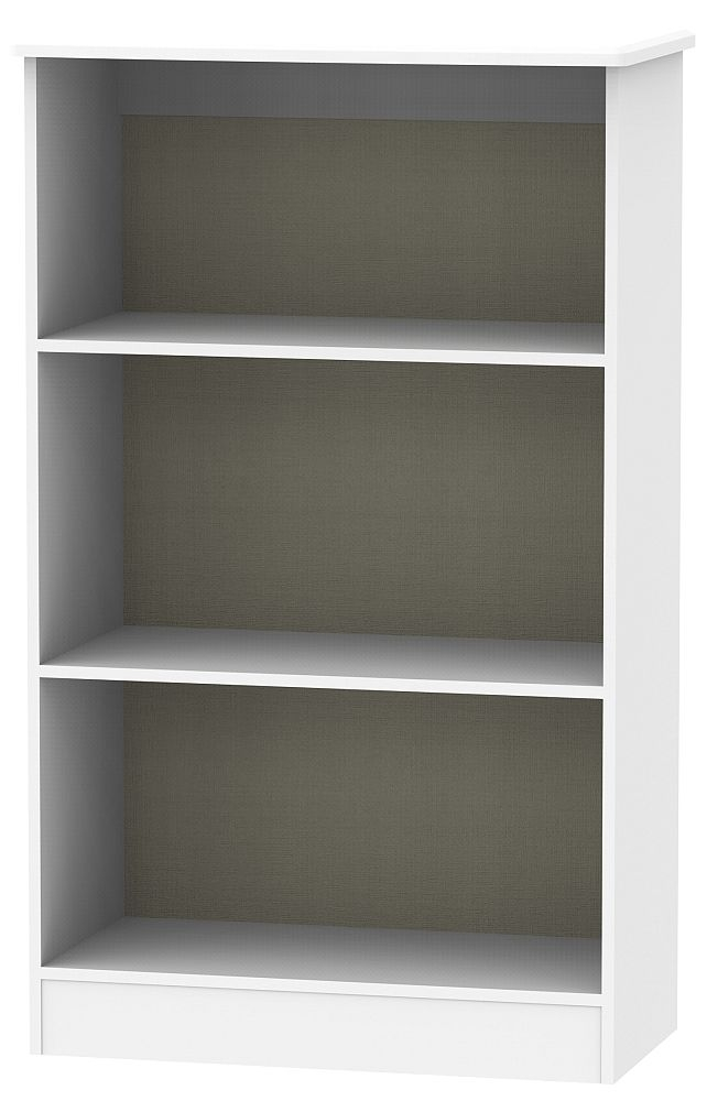 Sherwood Grey Matt Bookcase