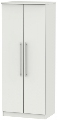 Sherwood Grey Matt 2 Door Wardrobe