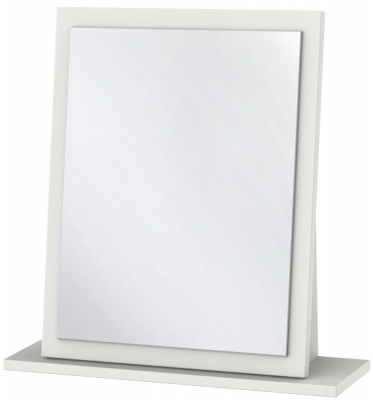 Sherwood Grey Matt Small Mirror