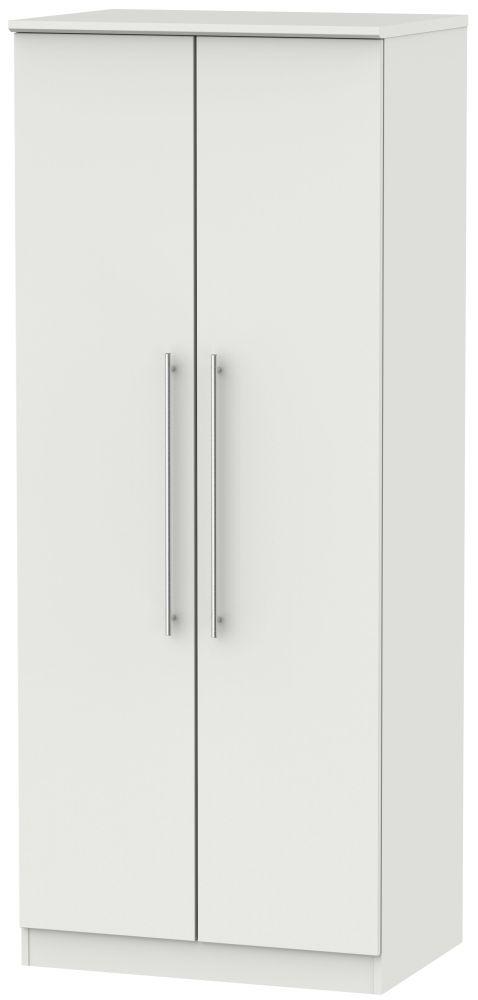 Sherwood Grey Matt 2 Door Wardrobe