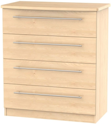Sherwood Maple Chest of Drawer - 4 Drawer