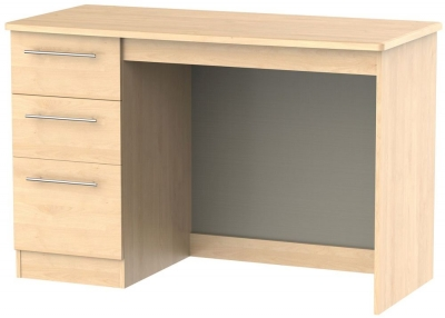 Sherwood Maple Desk - 3 Drawer