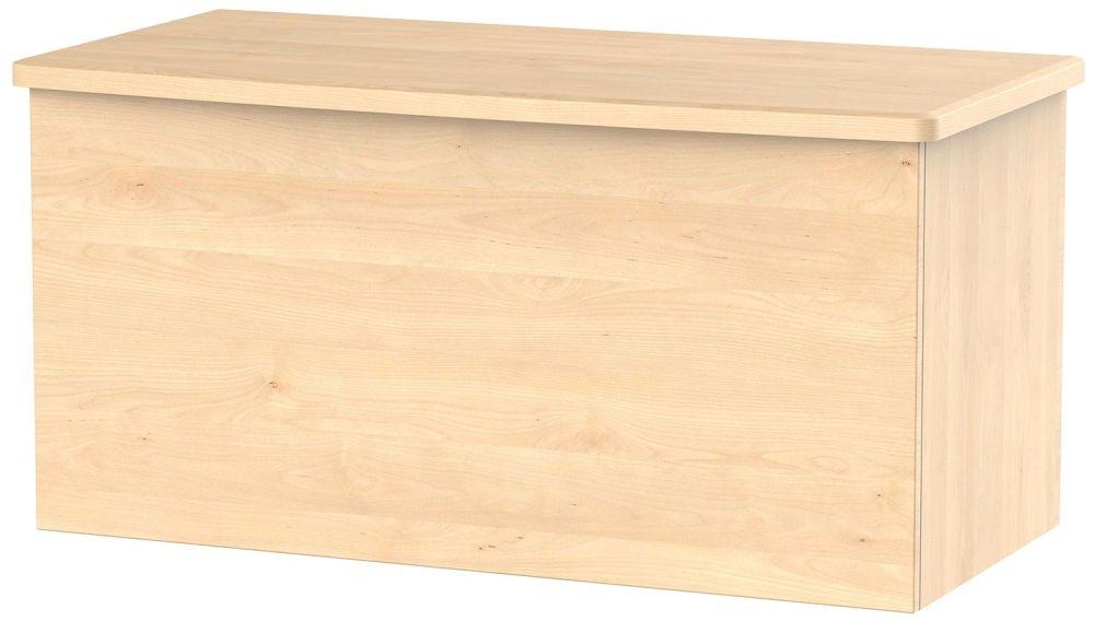 Sherwood Maple Blanket Box